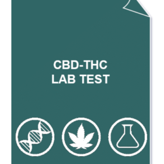CBD THC 324x324 - full Cannabinoids profile lab test (CBD/A, THC/A, CBG/A, CBN) + CBD/THC ratio