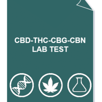 CBD THC CBG CBN 1 324x324 - full Cannabinoids profile lab test (CBD/A, THC/A, CBG/A, CBN) + CBD/THC ratio